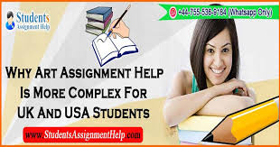 why art assignment help is more complex for the uk and usa  art is an across the board of activities of humankind such as painting photography carving and other visual media etc in the broader context of