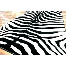 zebra print area rug animal rugs jungle themed skin black target home depot for and