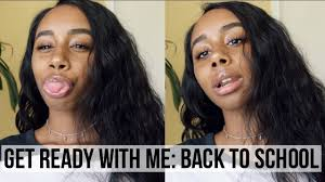 grwm first day of makeup hair outfit 2017