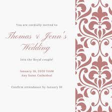 Royal Invitation Template Get The Look Royal Wedding Invitation Templates Learn