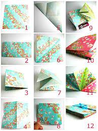 diy origami folded book