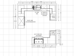 Full Size of Kitchen:dazzling Kitchen Floor Plans With Dimensions Photo Of  New On Interior ...