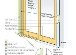 patio door sizes lovable patio door sizes standard patio sliding glass patio door sizes uk