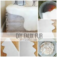Faux Bearskin Rug Homely Idea Faux Skin Rug Perfect Design How To Make A Diy Faux