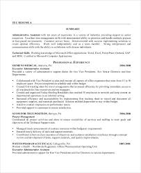 Best Resume For Administrative Assistant Sample Executive Administrative Assistant Resume 6