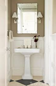 enlarge clean and simple powder room