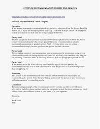 Letter Of Rec Format Picture Resume Format For Government Job Free