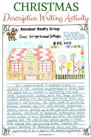 best christmas writing ideas holiday writing christmas descriptive writing for middle school gingerb house for