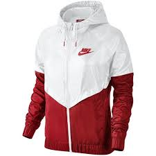 nike jackets. nike colorblocked windrunner jacket ($90) ❤ liked on polyvore featuring activewear, activewear jackets k