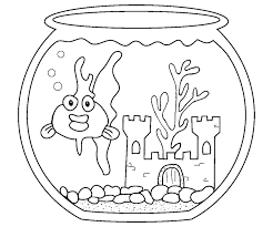 Small Picture Printable Goldfish Coloring Pages Best Of Page glumme