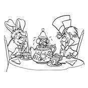 Kleurplaat Alice In Wonderland Disney 77