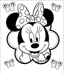Small Picture Minnie Mouse Color Page Minnie Mouse Coloring Pages 2 Disney