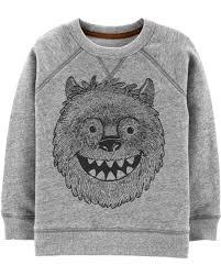 Simple Joys Carters Size Chart Yeti Fleece Sweatshirt