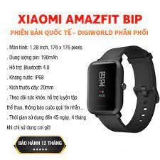 Đồng hồ thông minh Xiaomi Amazfit Bip - Hàng Chính Hãng Digiworld - Bảo  Hành 12 Tháng Lỗi 1 đổi 1, Giá tháng 3/2021