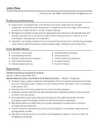 Ob Nurse Resume Examples Free Nursing Templates Gyn Sample