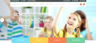 Kids School Website Template Kids School Website Template Best Themes For Education And