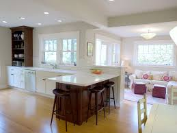 Kitchen Family Room Kitchen And Dining Room Combination Designs Living Room Dining