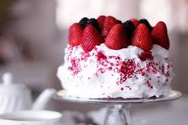 Strawberry Cake Wallpaper 35447 Baltana