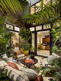 Indoor Garden Design Ideas Mesmerizing Atrium Design Brings Together Indoor And Outdoor Living And Allows