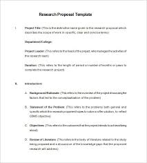57 Fresh Research Proposal Sample Doc | The Proposal