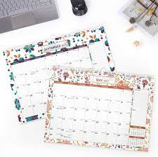 with Bonus Planner Stickers Mokani Wall Calendar July 2020 2021 18 Months  Large Monthly Wall Desk Calendar with Plastic Cover: 17x12 Dec Perfect for  Planning for Home or Office Calendars, Planners &