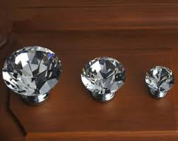 crystal furniture knobs. Glass Knobs Clear Crystal Knob Drawer Dresser Pulls Handles Cabinet Sparkly Furniture Decorative