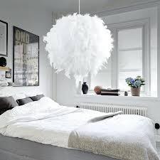 bedroom pendant lights bedroom foyer with led bulb plume plumage chandelier hanging light lamp modern white bedroom pendant lights pendant lighting