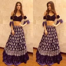 Manish Malhotra Designer Long Skirts Kriti Sanon In Designer Lehenga By Manish Malhotra Lady India