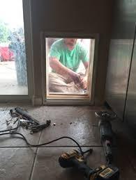 diy dog doors. Can\u0027t Put A Doggy Door In Your Glass Door? No Problem, Install Diy Dog Doors