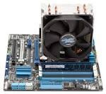 Кулер Zalman CPU Cooler CNPS10 X Performa+ 1156/1366/775/754/939/940/АМ2/, 17-24 Дб, 900-1350 Об/хв, алюміній + мідь, PWM