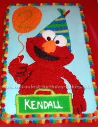 Coolest Elmo Birthday Cake Photos And How To Tips