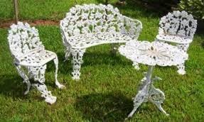 vintage wrought iron garden furniture. Cast Iron Patio Furniture Sets Vintage Wrought Garden S