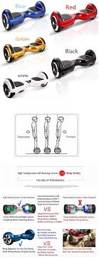 specifications of hoverboard k5 6 5 inch smart balance wheel self balancing scooter segway airway