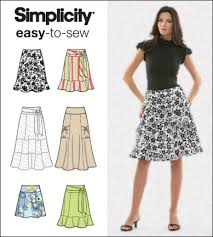 Simplicity Skirt Patterns Impressive Simplicity 48 Misses Skirts