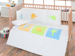 elephant collection children embroidered 100 cotton cot bed per