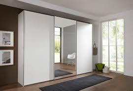 german ernie white mirror 3 door 270cm sliding door