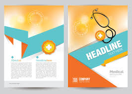 healthcare brochure templates free download medical brochure flyer layout template a4 size stock vector