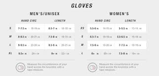 The North Face Glove Size Chart The North Face Montana Womens Ski Gloves