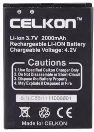 CELKON A60 1400 mAh Li-ion Battery for ...