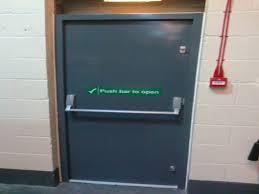 Fire exit doors, double door dimensions double fire exit door ...