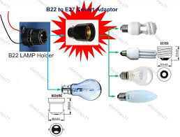 wiring e27 lamp holder wiring image wiring diagram b22 to e27 lamp holder adaptor socket convert pin type bulb to on wiring e27 lamp
