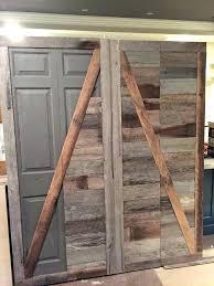 sliding barn closet doors sliding barnwood door hardware closet