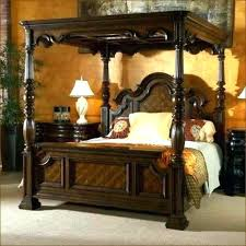 California King Canopy Bed Frame Canopy King Bed Design King Canopy ...