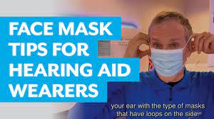 face mask tips for hearing aid wearers