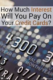 how credit cards interest calculated credit card interest calculator how much interest will i pay