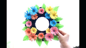 how to make wall hanging paper flower wall hanging wall decoration ideas how to make easy