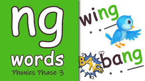 All the letters and graphemes for phase three are included, in various formats, large and small. Ng Words Blending Phonics Phase 3 Youtube