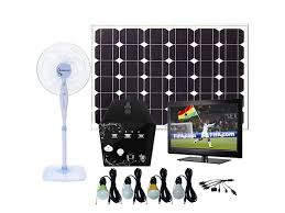 Remote Solar Panel Lighting System By FreeLight Flexible And Solar Powered Lighting Systems