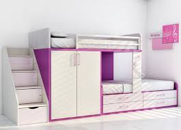kids beds with storage for girls. Child\u0027s Bunk Bed With Storage Cabinets (girls) Kids Beds For Girls D