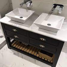 Parker Howley Co Bespoke Furniture Fitted With A Chioce Of 30mm Thick Marble Granite Or Quartz Our S Bathroom Vanity Units Marble Vanity Tops Vanity Units